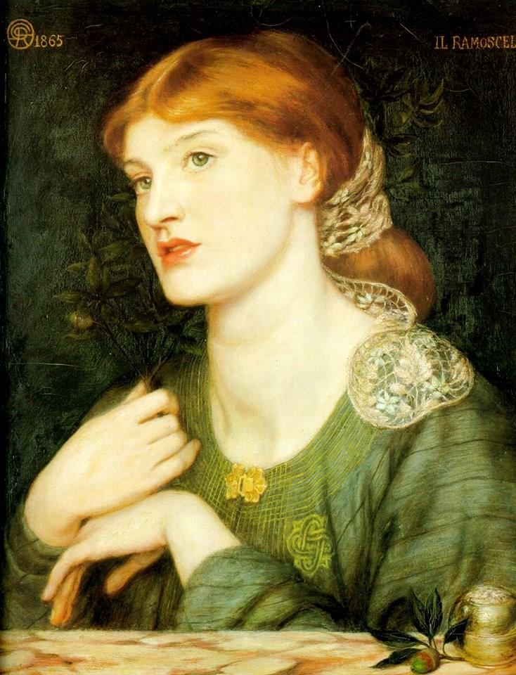 The Twig, 1865 Dante Gabriel Rossetti